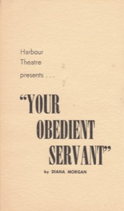 Your Obedient Servant