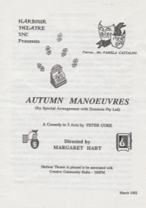 Autumn Manoeuvres